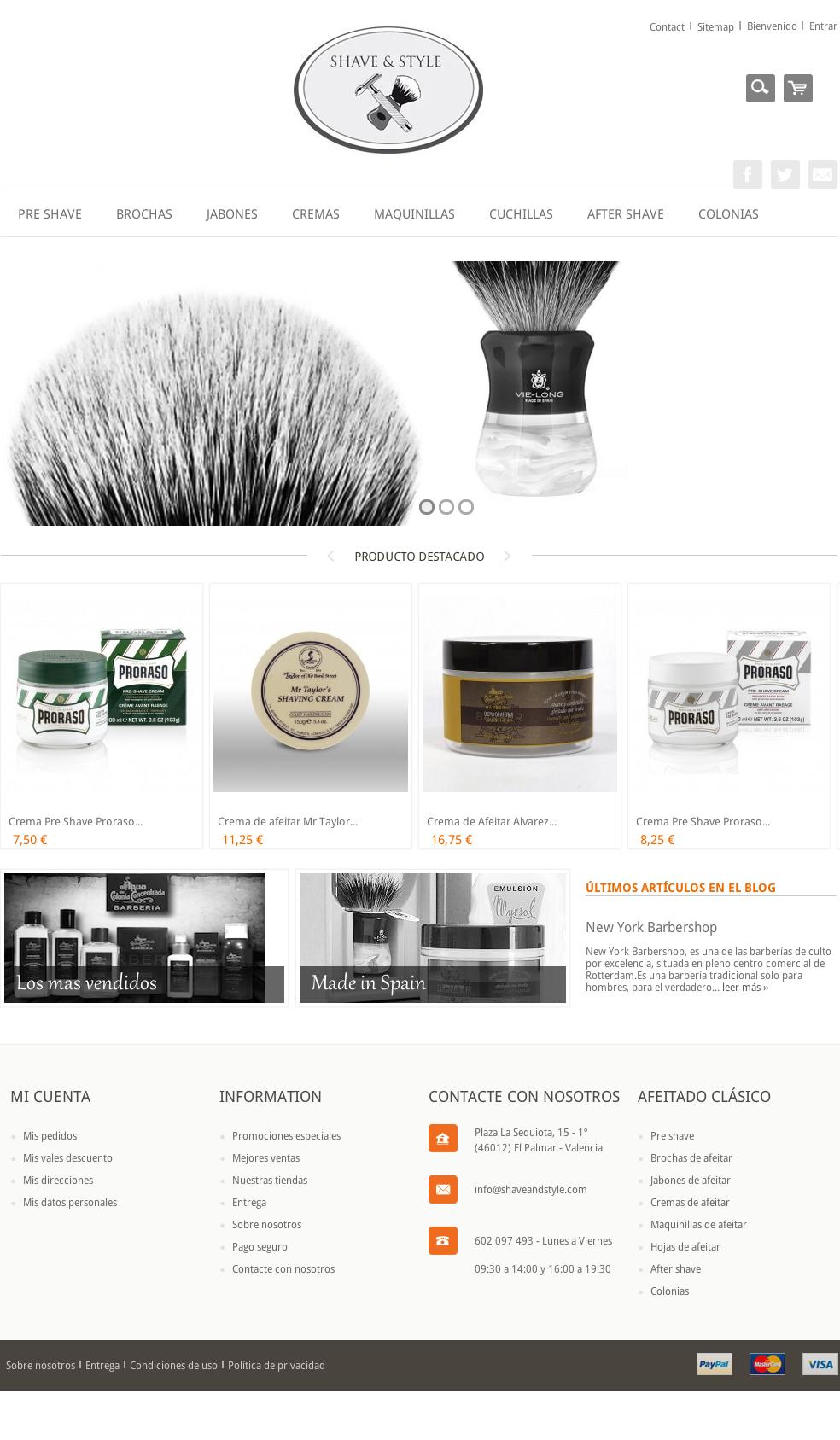 Shave & Style - El Arte Del Afeitado Clásico - Shave & Style (20150904)